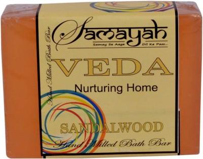 Samayah Hand Made Bath Soap Veda (Sandalwood)