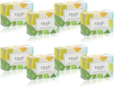 Khadi Natural Herbal Mix Fruit Soap (Set of 8)