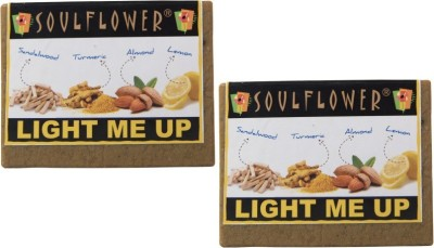 Soulflower Soulflower Light Me Up Soap Set of 2