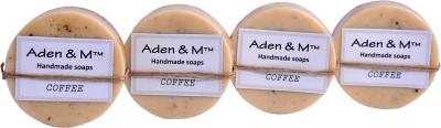 Aden & M Goat Milk & Coffee Soap - Pack of 4