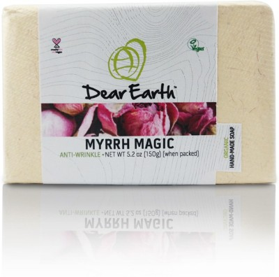 Dear Earth Myrrh Magic Anti-wrinkle Organic & Vegan Soap