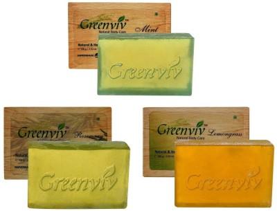 Greenviv Refreshing Bath Soap Combo