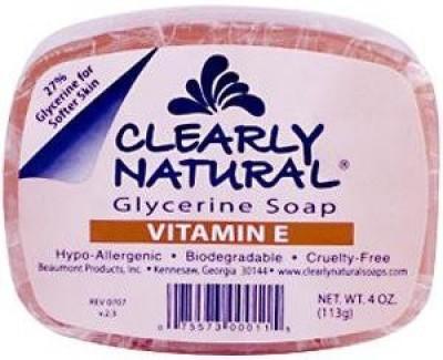 Clearly Naturals Glycerine Soap (Vitamin E)