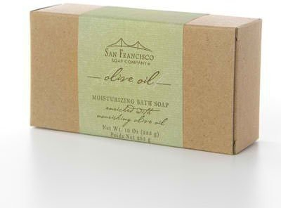 San Francisco Soap Company Moisturizing All Natural Olive Oil Bath Soap - Extra Large Size