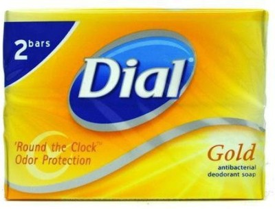 Dial Gold Antibacterial Deodorant Soap 2 pack Total Net Wt