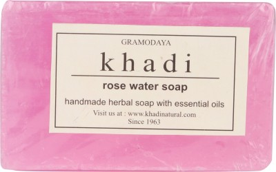 Khadi Natural Khadi Rose Water Soap Pack Of 3