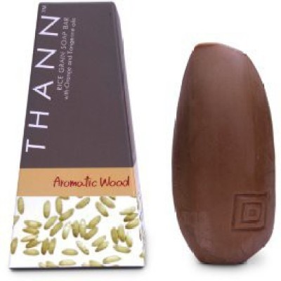 Thann Aromatic Wood Rice Grain Soap Bar by Thailand