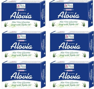 Besure Aloe Vera Soap (Pack of 6)
