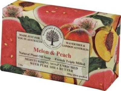 Simple Scents Australia Wavertree & London Melon Peach luxury soap (1 bar)