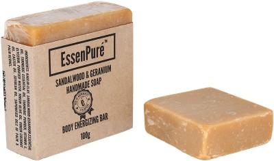EssenPure Sandalwood & Geranium Handmade Soap (Pack of 2)