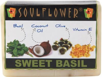 Soulflower Sweet Basil Soap