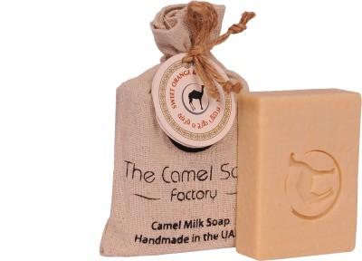 The Camel Soap Factory Sweet Orange and Cinnamon Camel Milk Soap
