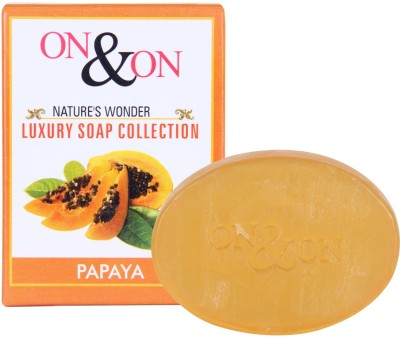 On & On Natures Luxury Papaya Soap