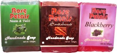 Anamis Handmade Soaps- Neem & Tulsi, Sandlewood And Blackberry