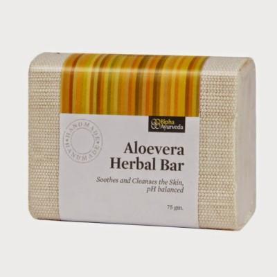 Bipha Ayurveda Aloevera Herbal Bar