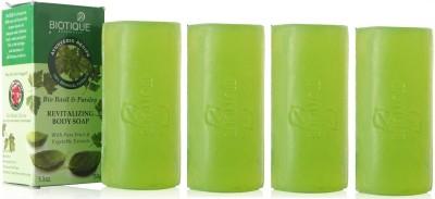 Biotique Basil & Parsley Soap (Set of 4)