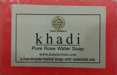 Dukeherbals Khadi Rose water soap