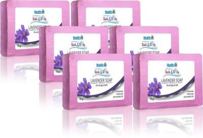 Healthvit Lavender Soap Set of 6