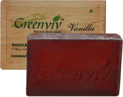 Greenviv Natural Vanilla Soap