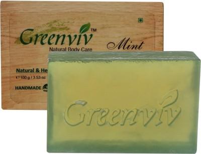 Greenviv Natural Mint Soap
