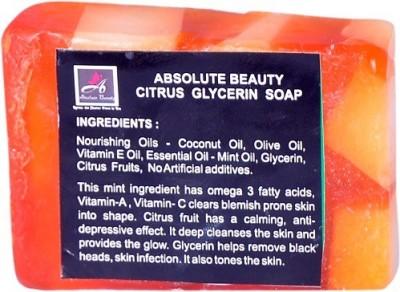 Absolute Beauty Citrus Glycerin Whitening Glow Skin Care Handmade Bathing Fairness Soap