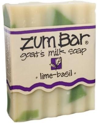 Indigo Wild - Zum Lime-Basil All Natural Goat Milk Soap - 1 Bar