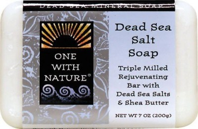 One With Nature Dead Sea Mineral Dead Sea Salt Soap