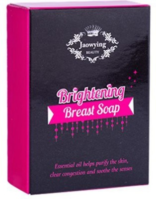 Jaowying Beauty Brightening Breast Soap /Active Collagen+coconut Oil