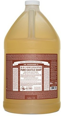 Dr. Bronner's Fair Trade & Organic Castile Liquid Soap
