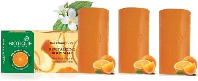 Biotique Orange Peel Soap (Set of 3)