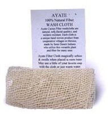 European Soaps Ayate Fiber Body Scrubber Cloth by