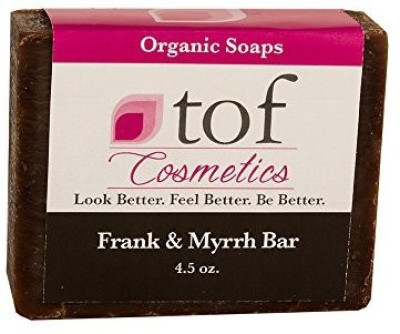 The Organic Face All Natural Organic Bath and Body Soaps (Frank & Myrrh Bar)