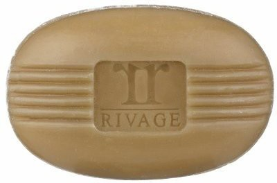 RIVAGE Black Natural Minerals Mud Soap from Dead Sea for Oily or Acne Pron Skin