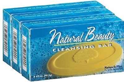 Nature's Plus Natural Beauty Cleansing Bar -3 Bars of 3