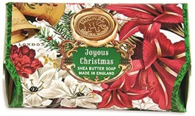 Michel Design Works Bath Soap Bar - Joyous Christmas