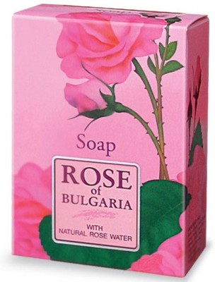 Bio Fresh Rose of Bulgaria Soap With Natural Rose Water
