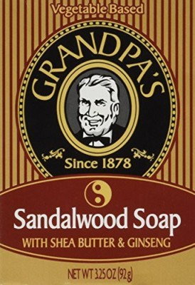 Grandpa's Sandalwood Bar Soap with Shea Butter and Ginseng