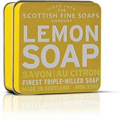 The Scottish Fine Soaps Company Soap Tin Collection - Lemon