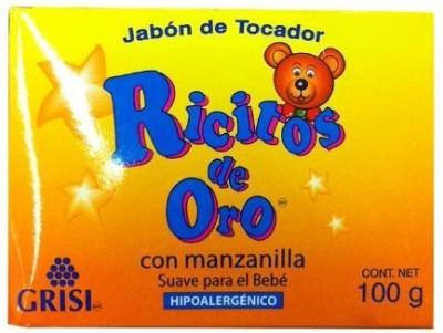 Ricitos De Oro Grisi Baby Soap - Soft Hypoallergenic Soap
