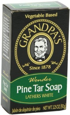 Grandpa's Pine Tar Bar Soap pack of - 3