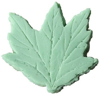 Fir Needle Soap Large Leaf Shapped Shea Butter And Aloe, Balsam Fir Need Bath . Great Aromatherapy(170.04 g)