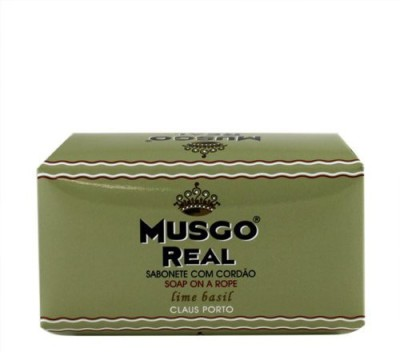 Musgo Real Soap On A Rope - Lime Basil