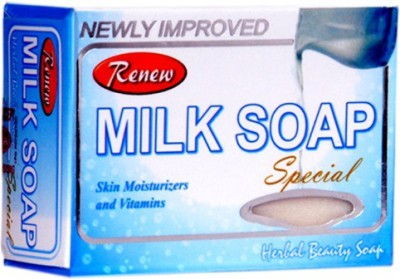 Renew Milk Soap Special Skin Moisturizers & Vitamins Skin Fairness Soap