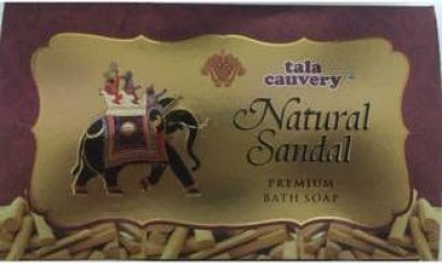 tala cauvery Natural Sandal soap( 3 soaps in 1 packet)