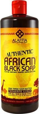 Alaffia - Authentic African Black Soap Tangerine Citrus