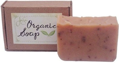 JenSan Home and Body Patchouli Rose Natural Organic Soap with Shea Butter and Essential Oils