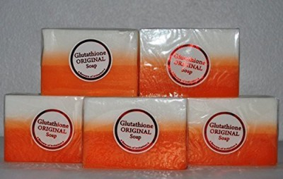 Professional Whitening 5 Bars Kojic Acid & Glutathione Dual Whitening/bleaching Soap