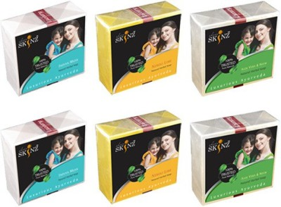 Sheer Skinz Natural Luxury Premium Herbal Soaps