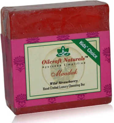 Oilcraft Naturals Wild Strawberry Ayurvedic Soap