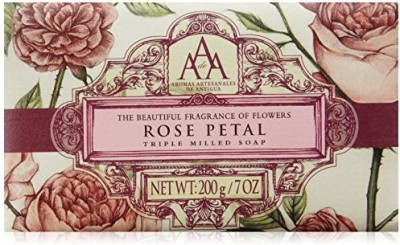 AAA Aromatherapy Floral Rose Petal Triple Milled Soap
